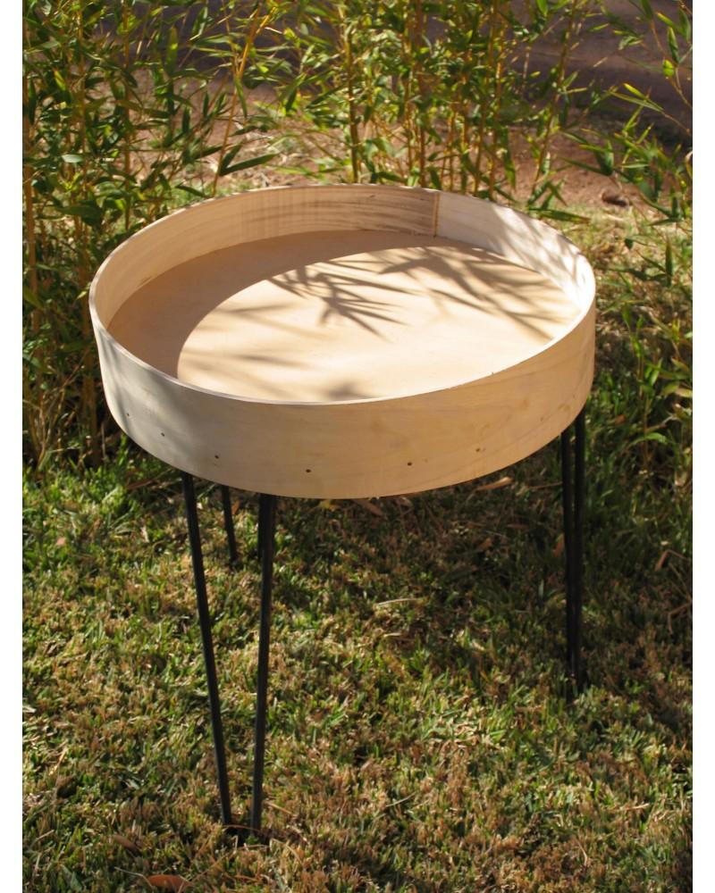 Pied Table Bois Deco Basse MétalCollection PétaleMarrakech 08ONnXwPk