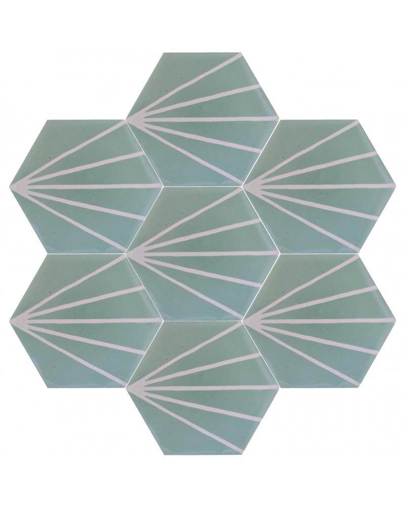 Epaisseur Carreau De Ciment carreau de ciment collection hexagonaux | marrakech deco